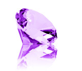 Isolated Amethyst Jewel poster