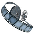 Film Reel. Concept of Industry cinematographic.