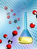 Molecular chemistry poster