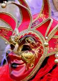 carnaval vénitien, joker du roi poster