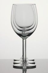 Three wineglsses