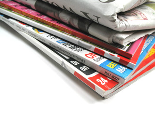 relax with some magazines