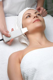 beauty salon series, ultrasound skin cleaning poster