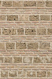 Old brick wall background, Nicea, Turkey, Ottoman architecture poster