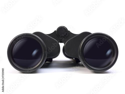 Leinwanddruck Bild Binoculars