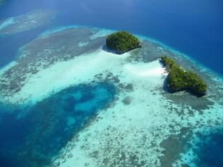 Micronesia, veduta aerea