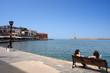 port vénitien  de la Canée hania en crète