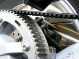 courroie de transmission de moto poster