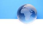 globe - Website header / banner poster