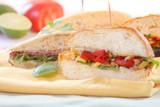 gourmet sandwiches poster