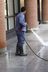 """Nettoyage à l""""eau"""