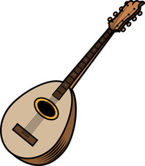 musical instrument (classic guitar)
