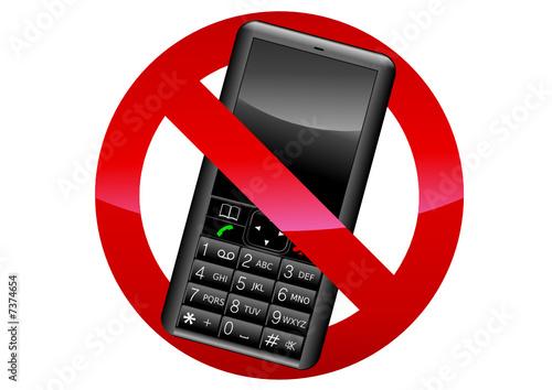 Interdiction du téléphone portable