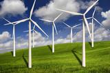 Fototapety Wind turbines