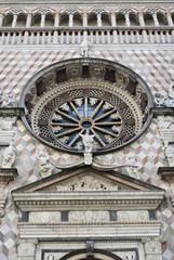 facciata palazzo Colleoni ( Bergamo alta)