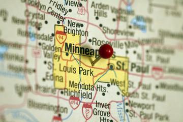 Map of Minneapolis