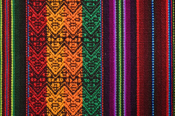 Traditional andean tapestry from northern Argentina and Bolivia.