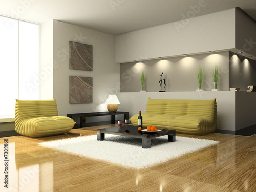 Living Rooms Modern on View On The Modern Living Room    Dmitry Koksharov  7389868   Zobacz