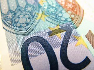 Twenty Euro banknote