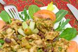 Vegetarian dish poster