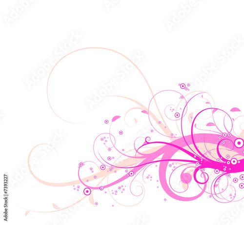 Swirly florals
