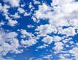 Beautiful summer clouds XXL