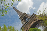 Eiffelturm schräg