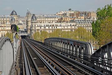Paris Bahnschienen