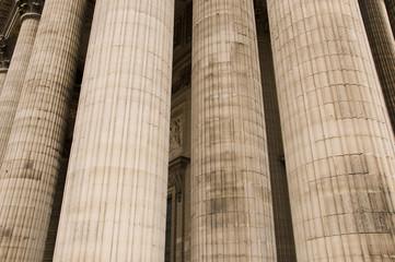 Classical antic architecture