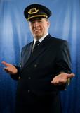 smiling pilot #2 poster