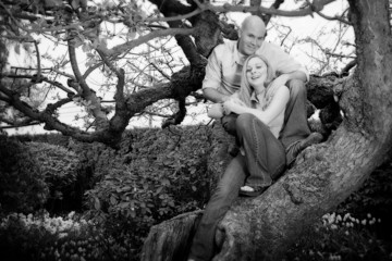Couple in a tree
