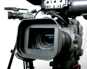 two dv-camcorders