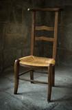 chaise religion prière chrétien église catholique croyance poster