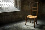 chaise religion méditation prier prière maison foi croyance poster