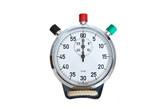chronomètre jeux olympique athlète sport performance temps secon poster