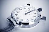 chronomètre jeux olympique athlète sport performance temps stade poster