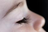 enfant dormir visage cil yeux fermé tranquille sage peau poster