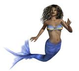 African Mermaid poster