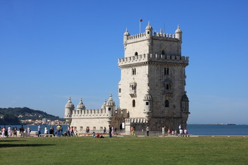 Belém Tower in Lisbon - the Capital of Portugal