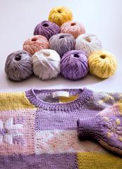 Maglione filato di cotone