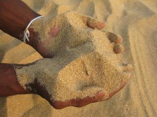 que du sable