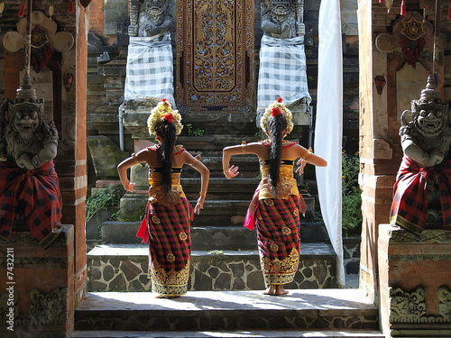 Foto op Plexiglas Indonesië Barong Dancers