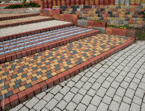 Cobblestone steps - 7437645