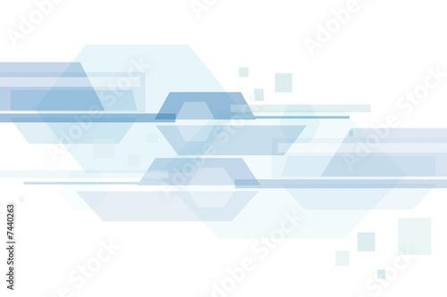 Hi-tech abstraction