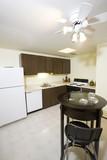 Kitchen in condominium poster