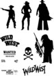 vector wild west set