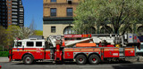 Fire Truck in New York City - Fine Art prints