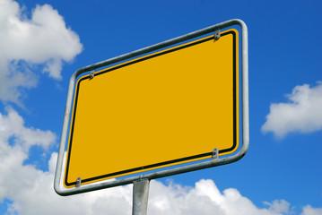 Schilder blank - frei (zum selbst ausfüllen)