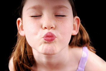 Young Girl in Pucker