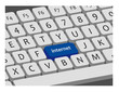 Internet key on keyboard